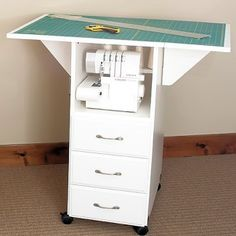 drop leaf cutting table - Google Search