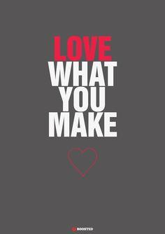 Motivační plakát Miluj, co děláš Calm, Calligraphy, Motivation, Love, Quotes, Amor, Quotations, Lettering, Calligraphy Art