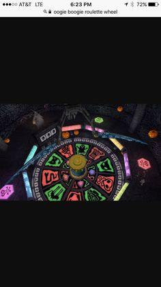 OOGIE's roulette wheel