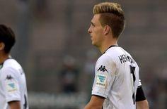 Patrick Herrmann hat sich am Freitag im Testspiel beim Schweizer Club FC Sion verletzt. Foto: dpa http://www.stuttgarter-zeitung.de/inhalt.borussia-moenchengladbach-herrmann-erleidet-schwere-knieverletzung.23a4b080-6958-48af-825b-512ee3c7b159.html
