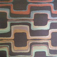 Maze Chocolate Contemporary Upholstery Fabric - 26599 - Buy Fabrics - Buy Discount Designer Fabrics | BuyFabrics.com