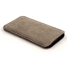 Leather iPhone case. Sand color iPhone 5 sleeve. Also by JACCET