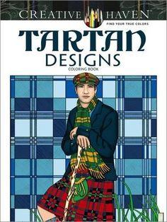 Creative Haven Tartan Designs Coloring Book (Adult Colori...