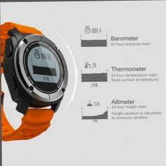 Smart Sports Watches silicon Leather Stainless Steel Tungsten Steel Led Digital Military Alarm Photography Fitness Tracker Message Reminder Dial Call Call Reminder Sleep Tracker Bluetooth Stop Watch Answer Call Calendar GPS Waterproof Fitness Tracker, Men's Jewelry, Sport Watches, Blood Pressure, Smart Watch, Monitor, Heart, Sports, People