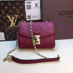 Louis Vuitton LV bags & shoulder bag & tote from replica shop, Size W17H13D7CM, Leather, Color Purplish Red #LOVUBAG-751