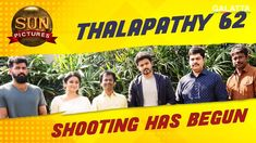 Thalapathy 62 (aka) Vijay 62 Tamil Movie - Latest updates on Thalapathy 62 Tamil Movie News, Review, Music, Photos, Images, Videos, Trailer, Teaser, Vijay 62 Movie Actor and Actress Interviews and much more exclusively on Galatta.