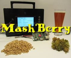 MashBerry – Raspberry Pi based beer brewing controller by Sebastian Düll