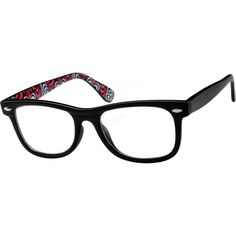 A new take on a classic style, this plastic full-rim frame features an ornate design that's beautiful to look upon. The ...Price - $9.95
