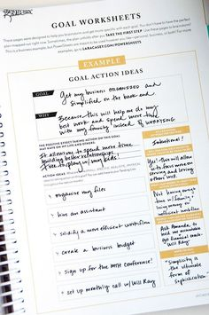 The 2016 Make It Happen Powersheets from the Lara Casey Shop! Here's a sneak… Goals Planner, Life Planner, Routine Planner, Planner Ideas, Physical Education Games, Health Education, Physical Activities, Bujo, Lara Casey