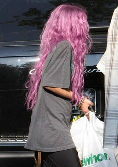 Purple girl!