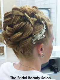 Updo bridal hair wedding hairstyles