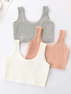 Cute Lazy Outfits, Crop Top Outfits, Sporty Outfits, Girly Outfits, Pretty Outfits, Stylish Outfits, Girls Fashion Clothes, Teen Fashion Outfits, Jugend Mode Outfits