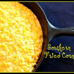 Mamaw Wyatt taught me how to make fried corn. it is labor intensive but worth every minute of it. This recipe is close to hers. Southern Fried Corn