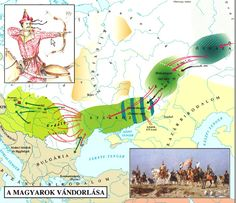 Genetic study proves that Hungarians are the descendants of the Huns - Daily News Hungary Semitic Languages, Indian Language, Early Middle Ages, Strange History, Teaching History, Historical Maps, Austro Hungarian, Cartography, Geography