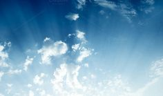 Sunny sky abstract background by AlexZaitsev on Creative Market