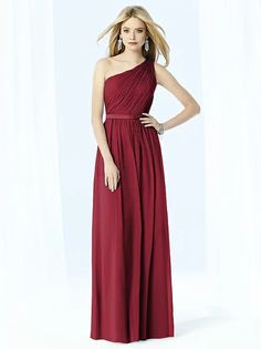 After Six Bridesmaids Style 6706 (shown in claret)
