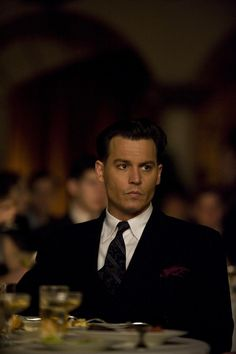 John Dillinger from Public Enemies <333, he's so handsome!!!!!!!!!!!!!!