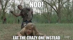 Walking Dead zombies LOL meme funny