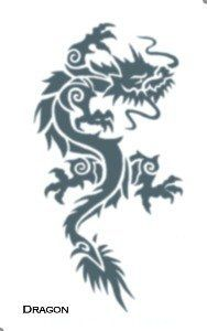 Tattoo Tribal Dragon by Morris Costumes. $2.20. Temporary Tribal Tattoo Design