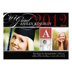 graduation announcements 2012