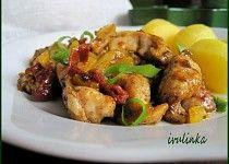 Kuřecí nudličky se sušenými rajčaty opékané na másle Kung Pao Chicken, Pork, Meat, Ethnic Recipes, Red Peppers, Kale Stir Fry, Pork Chops