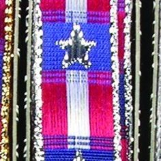 Silver Red and Blue USA Woven Wired Craft Ribbon 625 x 108 Yards *** Check this awesome product by going to the link at the image.