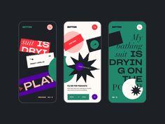 A quick way to create unique geometric shapes in Adobe Illustrator | Dribbble Design Blog Ui Ux Design, Layout Design, Design Trends, Conception D'applications, Application Mobile, Application Design, Apps, Mobile App Design, Creative Illustration