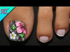 Beach Nails, Nail Art Videos, Toe Nail Designs, Toe Nails, Pedicure, Hair And Nails, Make Up, Pretty, Beauty