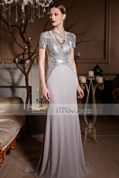 Exquisite sheath #eveningdress! Is this your favorite color? #2016prom #weddingdress #longgowns #coniefoxreviews