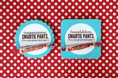 Smartie Pants.. might have to make these for my students!
