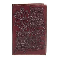 Cruelty-Free Leather Bound Journal - Night Owl #PinToWin #ConnectedGoods