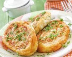 Maakouda (galettes algérienne de pommes de terre avec oignons, thon, fromage fondu & persil)