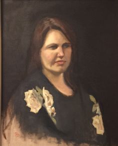 Francisca Louw - Ninon, the artists daughter. 2014 Oil on canvas. Sight size method of drawing and painting from life.