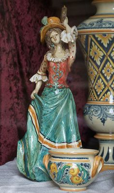 Caltagirone, Corso Principe Amedeo di Savoia, Keramikladen (ceramics shop)   #TuscanyAgriturismoGiratola