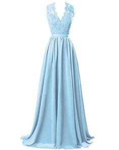 Marryou Women's V-Neck Long Prom Dresses Chiffon Bridesma... https://www.amazon.com/dp/B01HA83GIM/ref=cm_sw_r_pi_dp_3uTzxbGYR789T