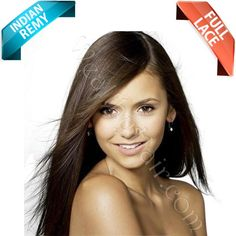 dark brown silky straight human hair full lace wig