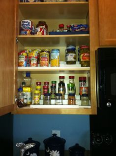 Organizing your cupboards