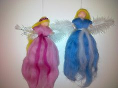 Deko-Objekte - Rosen-Fee-Elfe-Engel - ein Designerstück von magically bei DaWanda