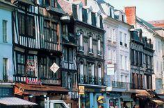 Pont Audemer Multi Story Building, Street View, France, Nature, Google, Souvenir, Cities, Normandie, Paisajes