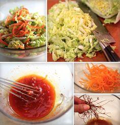 "Griddled Gochujang Chicken Sandwich, ""Kimchi"" Slaw Recipe"