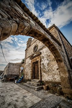 The old church - This is the church of a small fisher's village in the south of Sicily. If you like my work you can also follow me on: http://ift.tt/2rc7ne2 http://ift.tt/2rWKXed