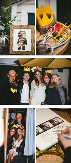 Where the Wild Things Are inspired photo booth props! Baby Shower Fun, from Langley's Wild One via Andrea Patricia Photography #photoboothideas