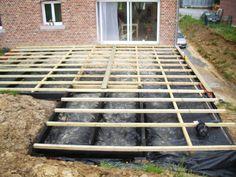 Uma pequena parte do terraço por falta de imagem Ladder, Deck, Wood Patio, Wooden Terrace, Stairway, Front Porches, Decks, Ladders, Decoration