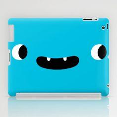Peeper iPad Case by simon oxley idokungfoo.com - $60.00