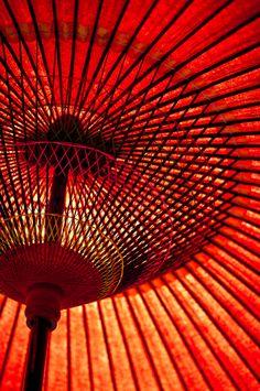Japanese umbrella(oil-paper umbrella)