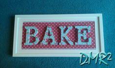 DMR²: FOR A CAKE DESIGNER - FRAME BAKE