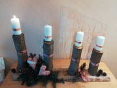 vianoce 2018 Pillar Candles, Taper Candles, Candles