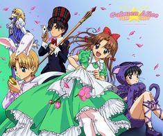 Higuchi Tachibana, Gakuen Alice, Alice in Wonderland, Mad Hatter, Sakura Mikan, Nogi Ruka