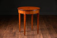 Jeno Wooden Side Table withStarburst Inlay Top No Finish Options Available