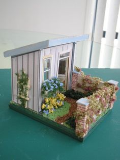 Smaller Scales. The garden shed.